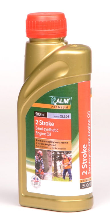ALM Semi Synthetic 2 Stroke Oil - 500ml