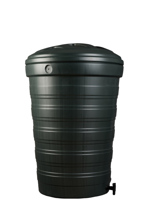 Ward Stackable Water Butt With Tap & Lid - 200L