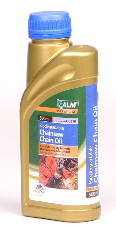 ALM Biodegradable Chainsaw Chain Oil - 500ml