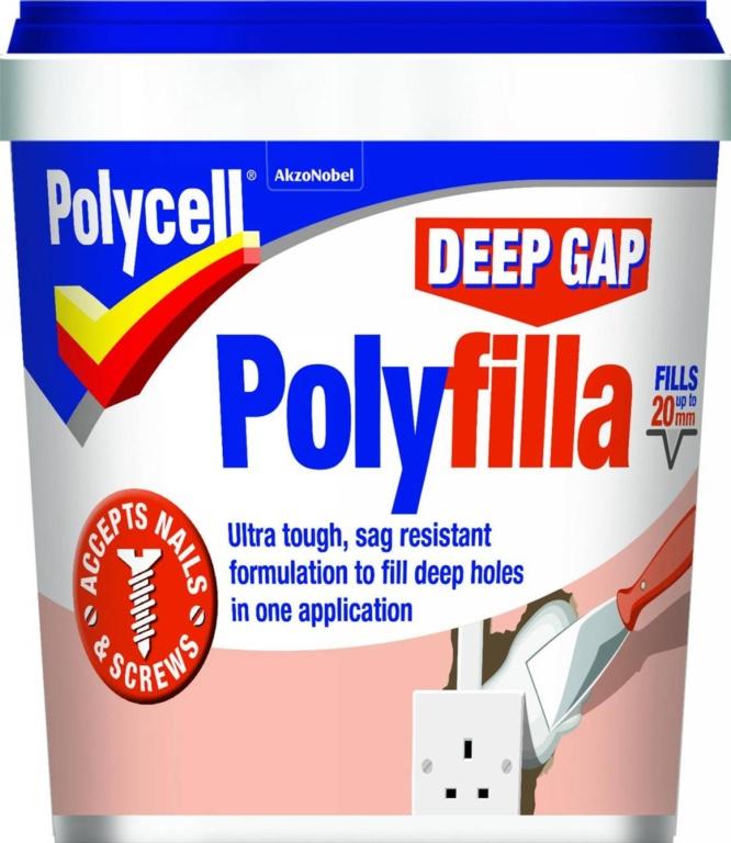 Polycell PU Deep Gap Polyfilla - 1L