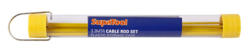 SupaTool Cable Rod Set - 3.3m