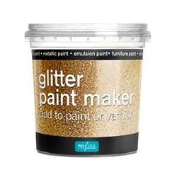 Polyvine Glitter Paint Maker - Gold