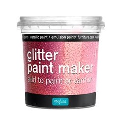 Polyvine Glitter Paint Maker - Pink