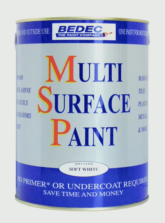 Bedec MSP Soft Satin 2.5L - Silver