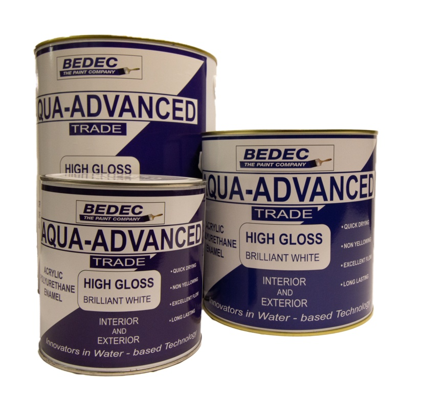 Bedec Aqua Advanced Gloss 1L - Brilliant White