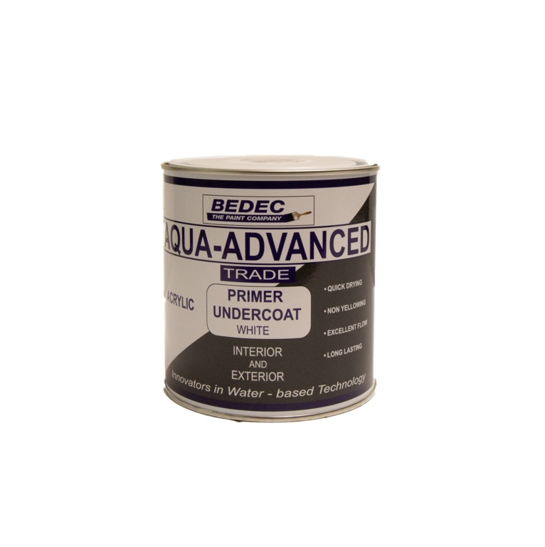 Bedec Aqua Advanced Primer Undercoat 1L - White