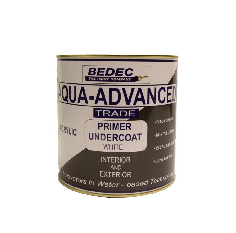 Bedec Aqua Advanced Primer Undercoat 2.5L - White