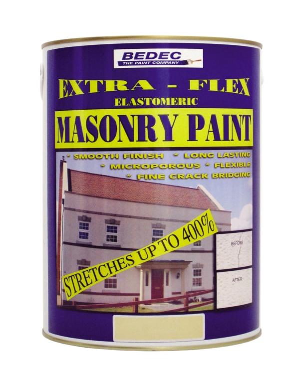 Bedec Extra Flex Masonry 5L - Portland Stone