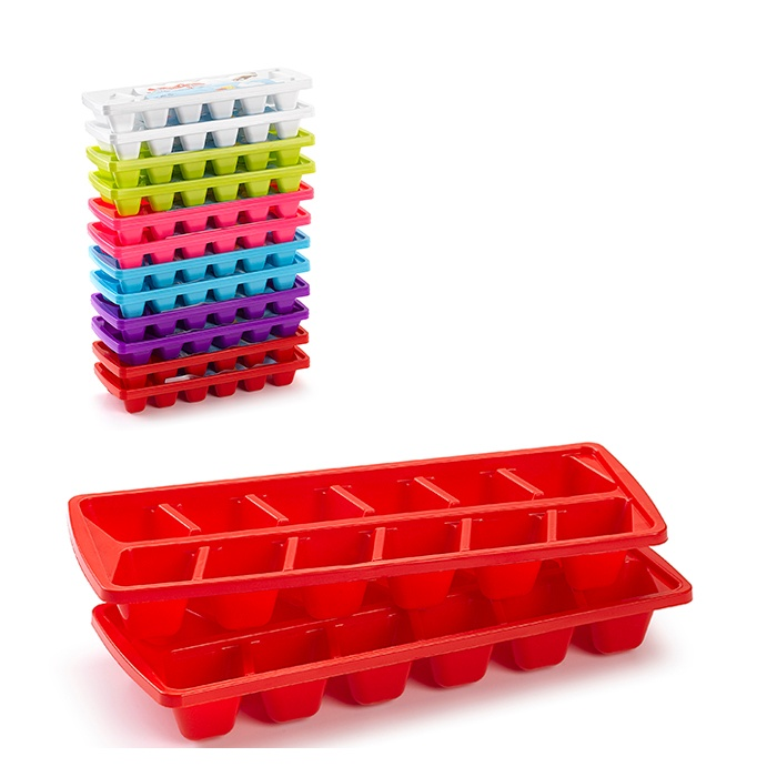 Plasticforte Ice Cube Trays - Set of 2