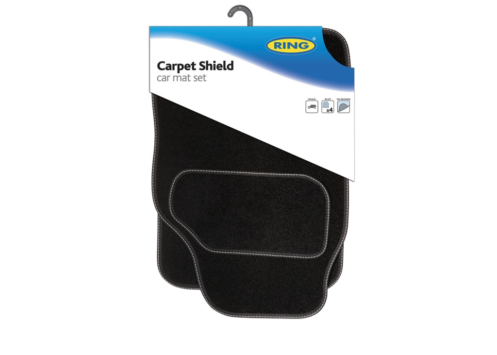 Ring Carpet Shield 5000 Mat Set - 4 Piece