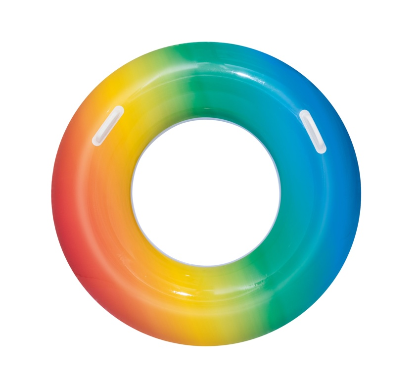 Bestway Rainbow Swim Ring - 36""