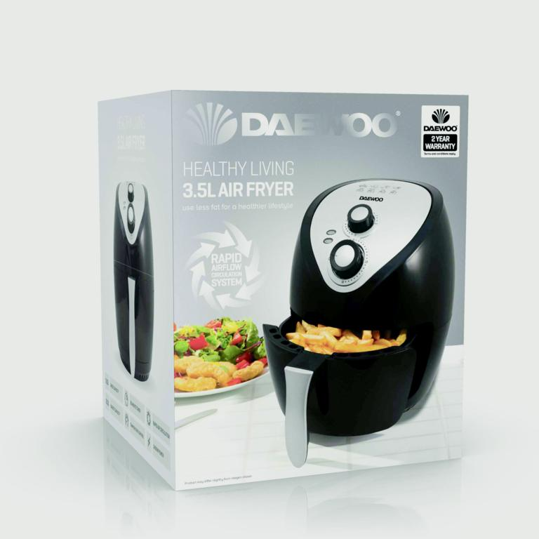 Daewoo Health Fryer - 3.6L