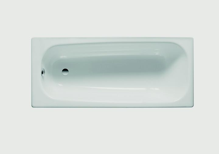 Fresssh Range Plain Steel Bath - 700mm x 1700mm
