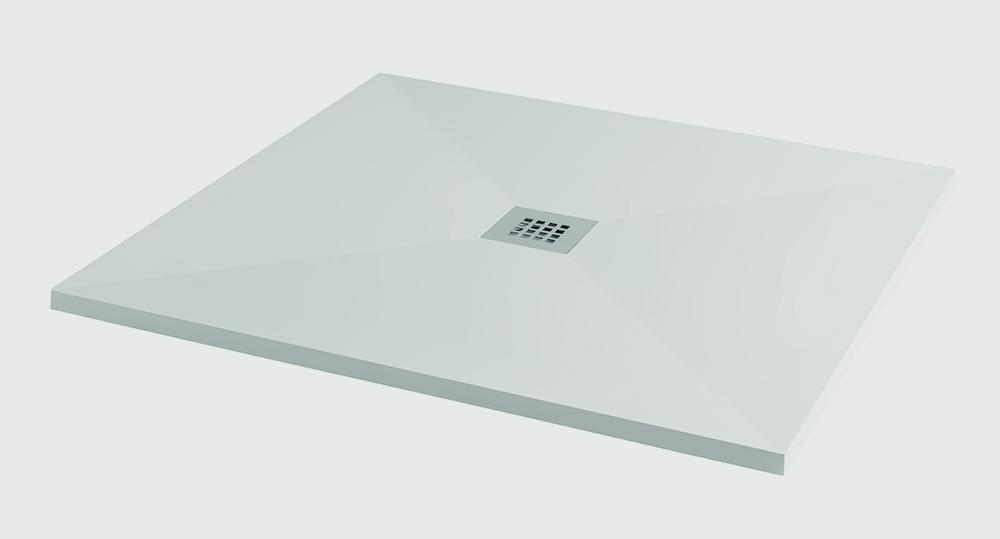 SP White Ultra Low Shower Tray - 900 x 900 x 25mm