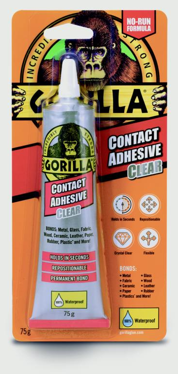 Gorilla Glue Contact Adhesive - Clear 75g