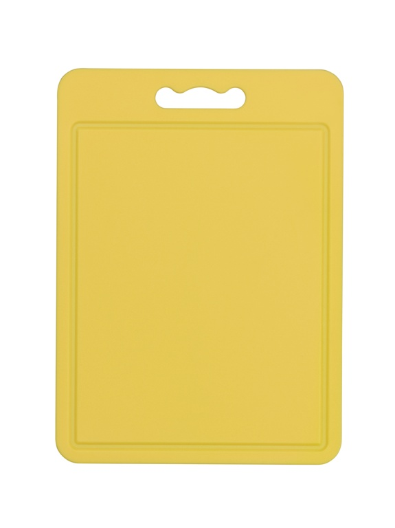 Chef Aid Poly Chopping Board 35 x 25cm - Yellow