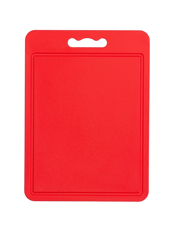 Chef Aid Poly Chopping Board 35 x 25cm - Red