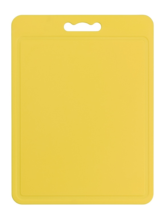 Chef Aid Poly Chopping Board 40 x 30cm - Yellow