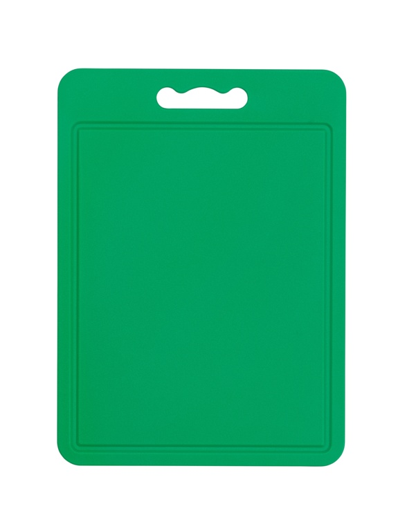 Chef Aid Poly Chopping Board 35 x 25cm - Green