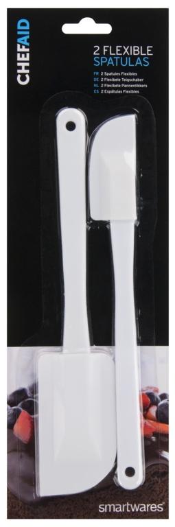 Chef Aid Flexible Spatulas Carded - 5.5cm