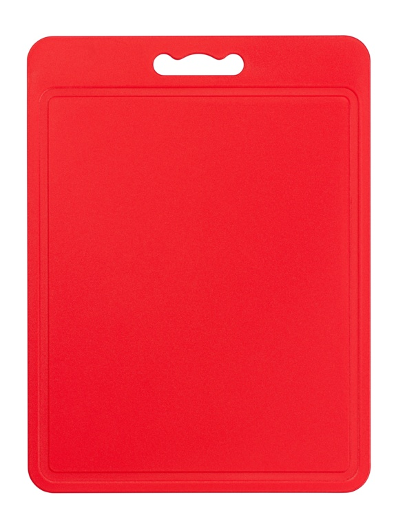 Chef Aid Poly Chopping Board 40 x 30cm - Red
