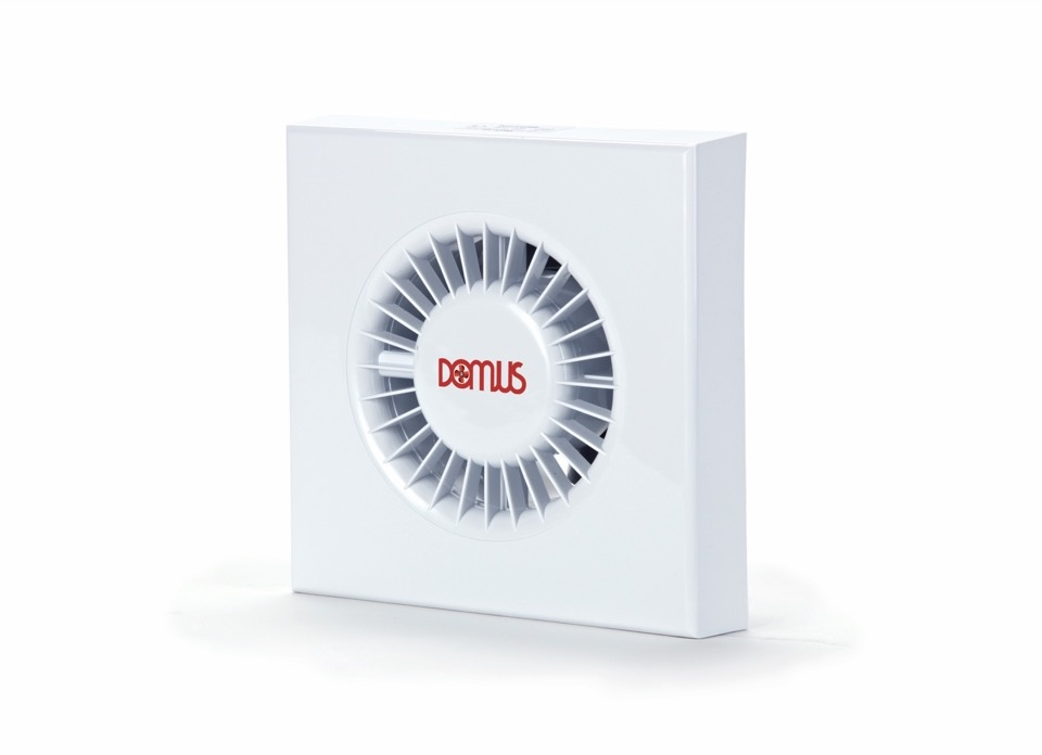 Domus Ventilation Domus SDF Axial Pull Cord Fan White - 100mm