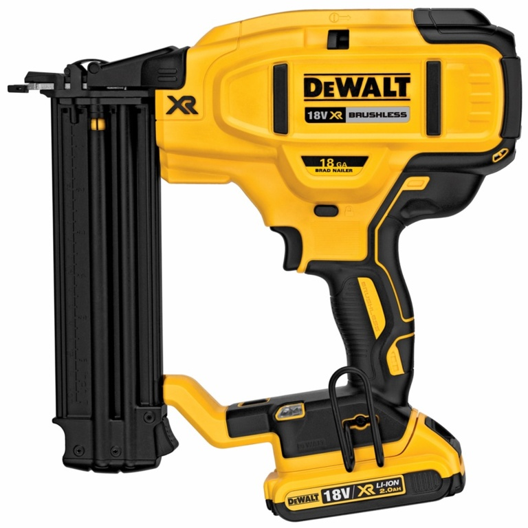 DeWalt 18V XR Li-Ion Brushless 18G Finish Nailer - Naked