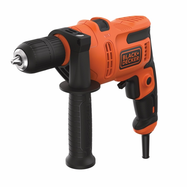 Black & Decker Keyless Hammer Drill 500W