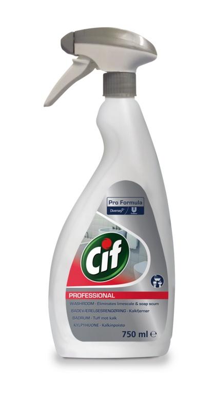 Cif Professional Washroom Cleaner 2in1 - 750ml