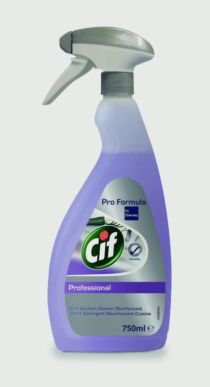 Cif Professional 2in1 Cleaner Disinfectant - 750ml