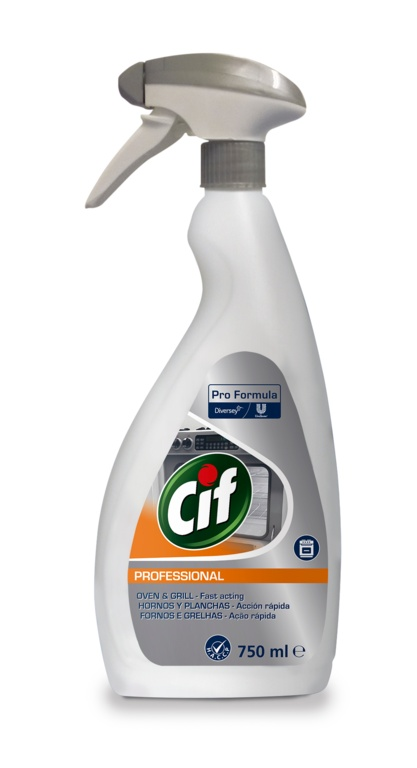 Cif Professional Oven & Grill Cleaner - 750ml