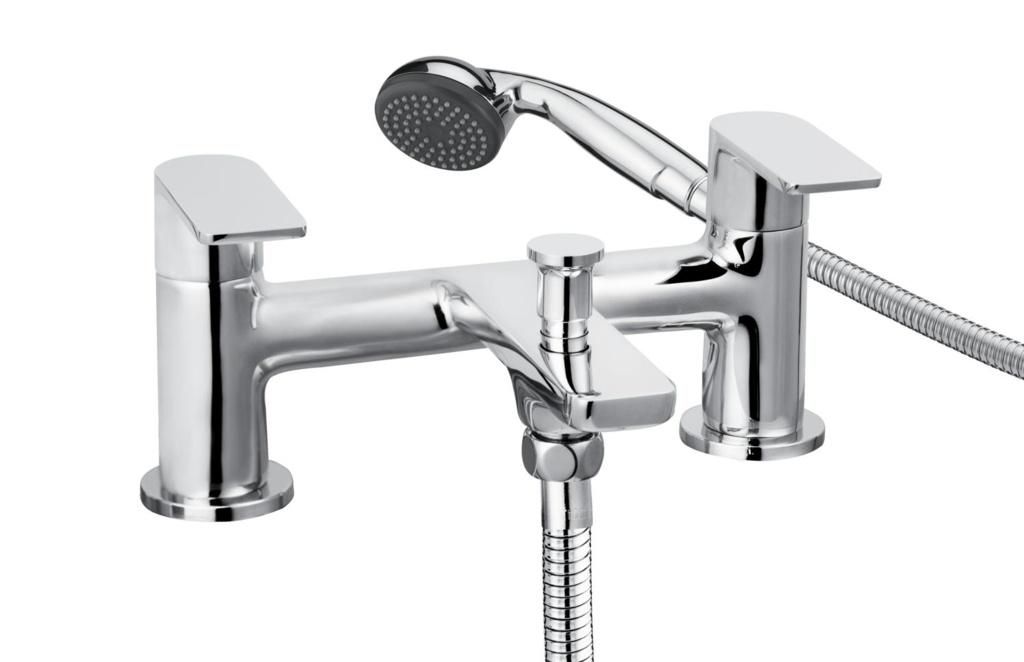 Cascade Trapeze Bath Shower Mixer