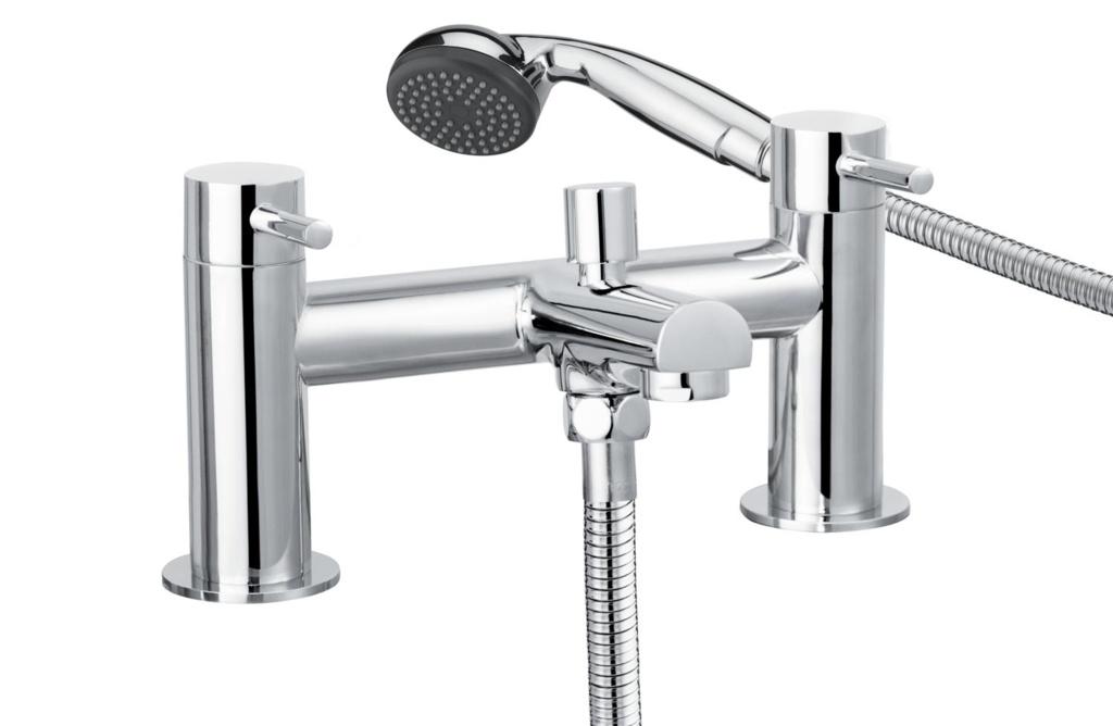 Cascade Sphere Bath Shower Mixer