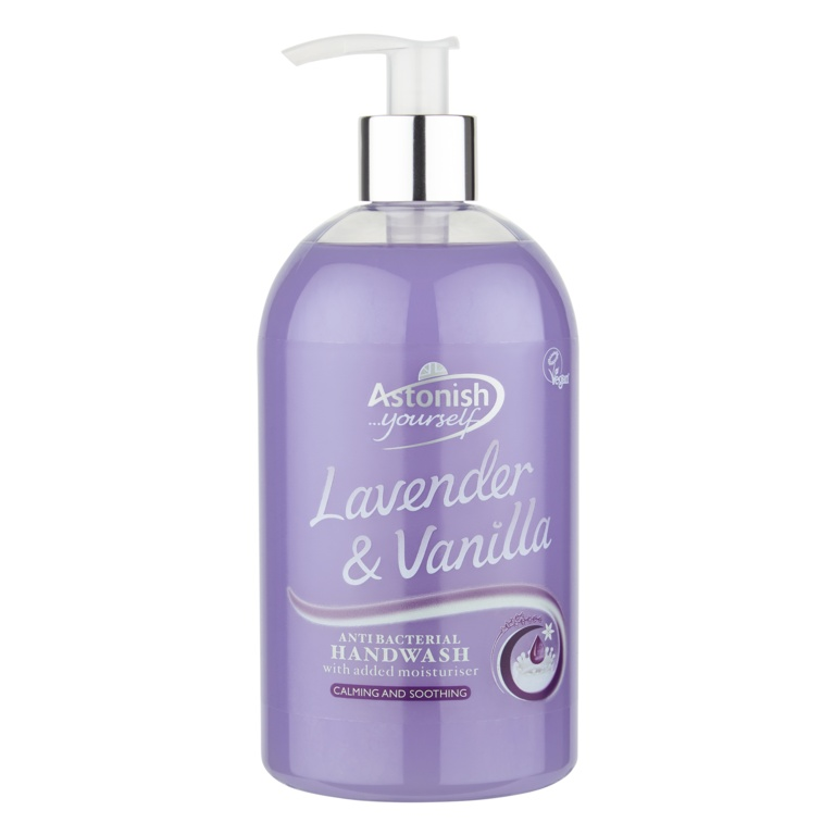 Astonish Lavender & Vanilla Hand Wash - 500ml