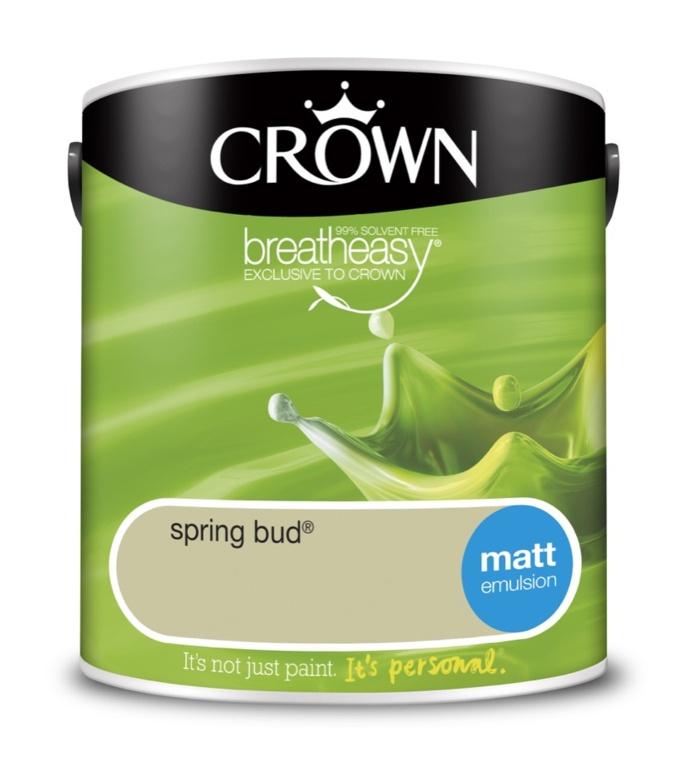 Crown Matt Emulsion - 2.5L Spring Bud