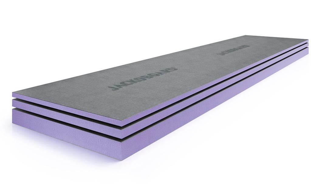 Jackoboard Insulated Tile Backer Con Board - 2400 x 600 x 12mm