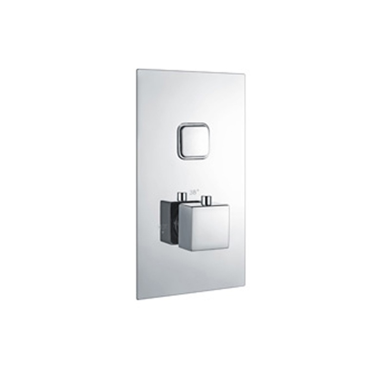 Niagra Observa Square Concealed Valve - Single Push