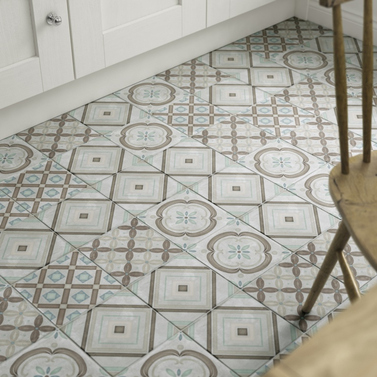 Johnson Savoy Floor Tile 1.02m2 - Beige