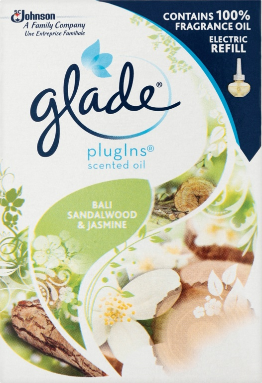 Glade Liquid Electrical Refill - Bali Sandalwood and Jasmine