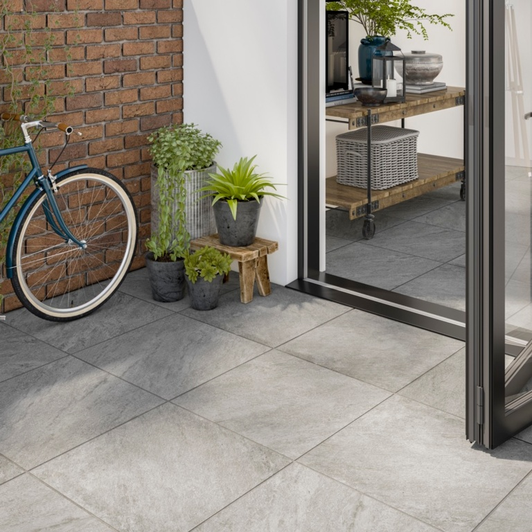 Verona Westbury Grey Indoor Tile 600 x 600 x 10mm - 1.44m2