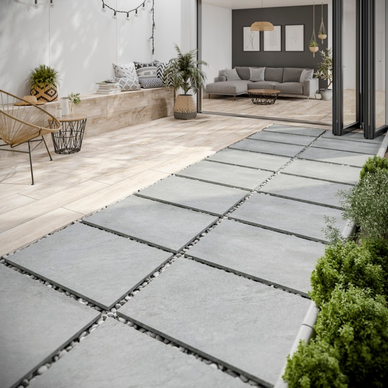 Verona Lodge Natural Outdoor Tile 300 x 1200 x 20mm - 0.72m2