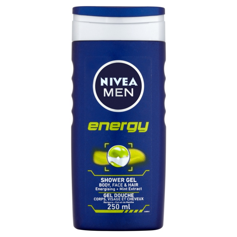 Nivea Men Energy Shower Gel - 250ml