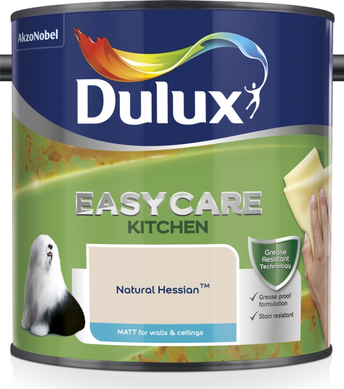 Dulux Easycare Kitchen Matt 2.5L - Natural Hessian