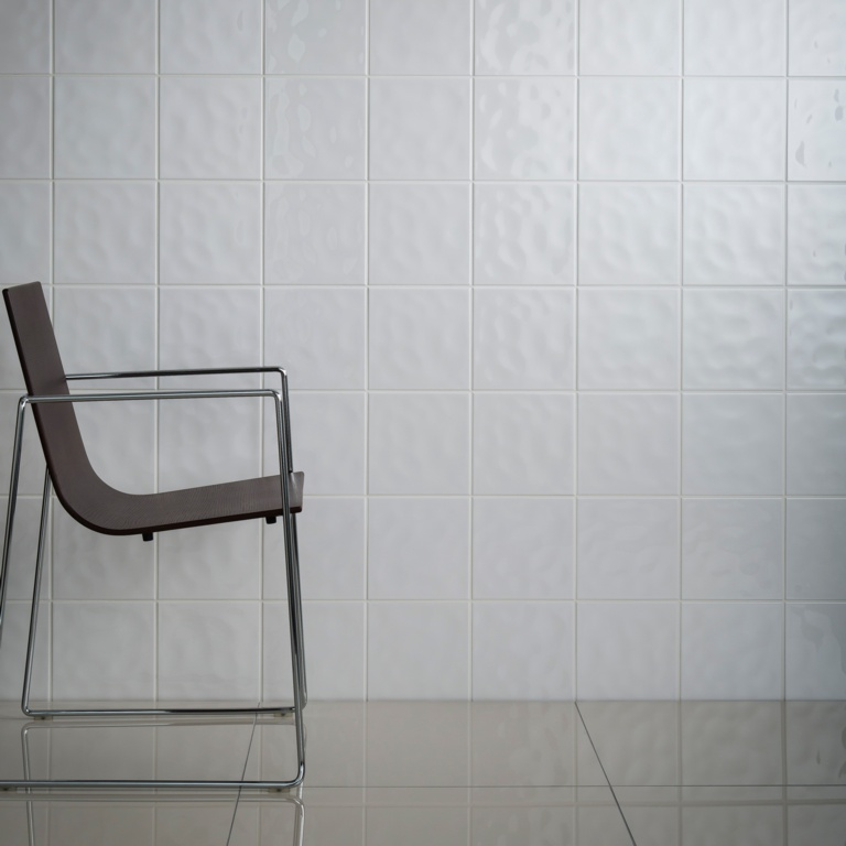 Johnson Tiles Cristal White Wall Tile - 150 x 150