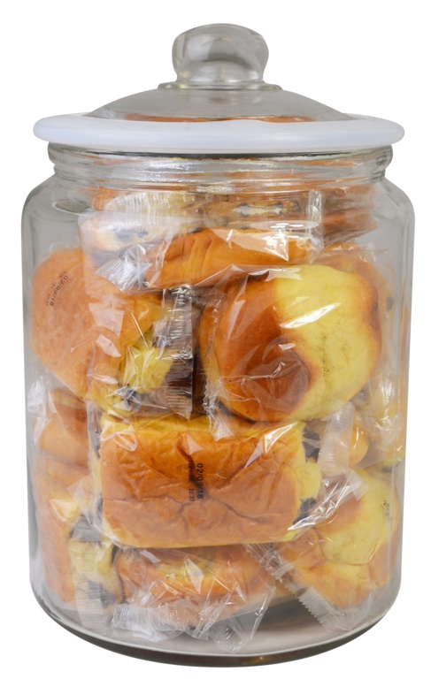 Zodiac Glass Biscotti Jar - 6L