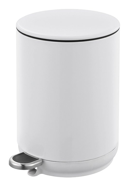 Blue Canyon Natural Soft Close Pedal Bin 5L - White