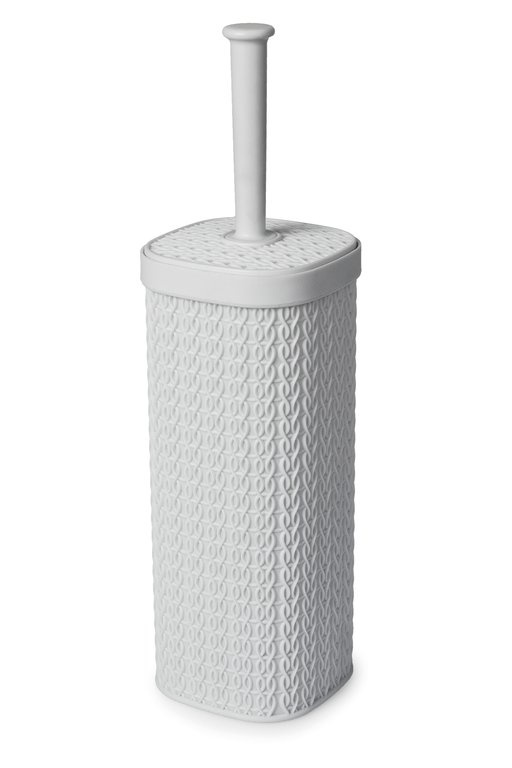 Blue Canyon Lace Design Toilet Brush - White