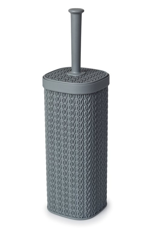 Blue Canyon Lace Design Toilet Brush - Grey