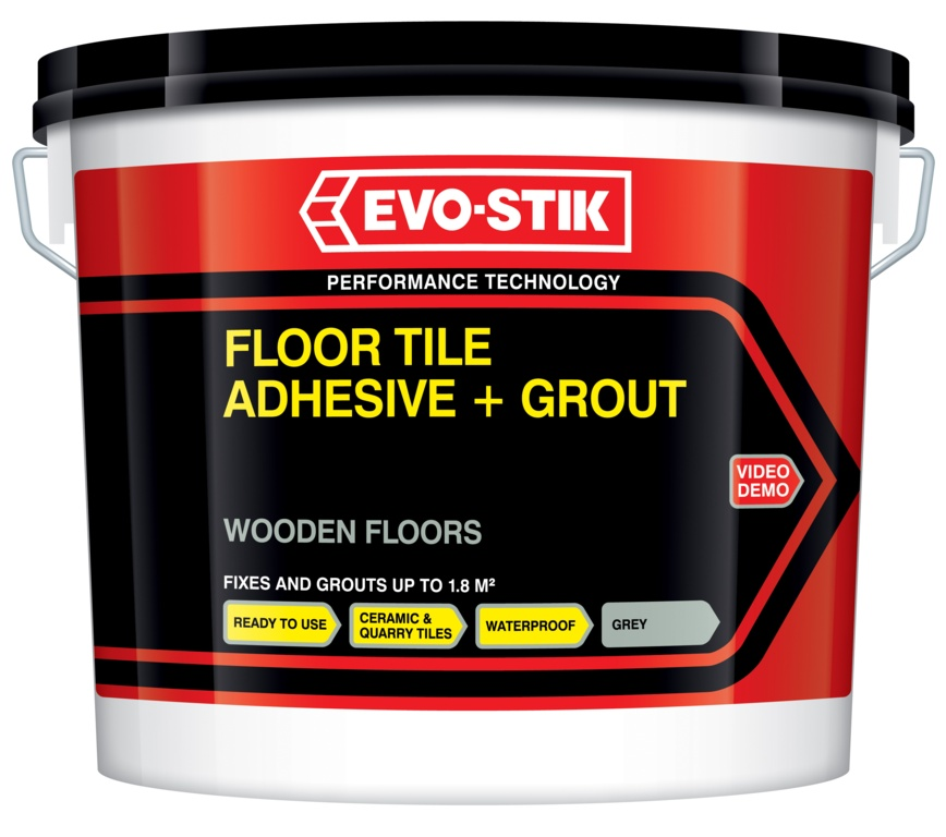Evo Stik Tile A Floor Flexible Adhesive Amp Grout For Wooden