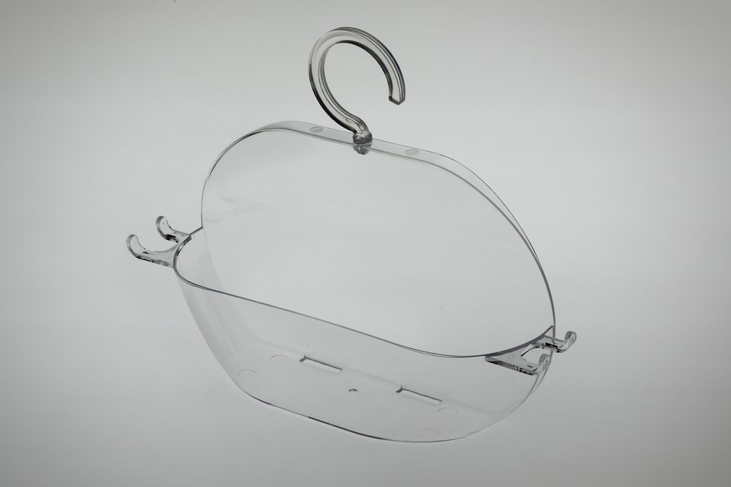 Blue Canyon Hanging Plastic Shower Caddy